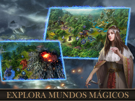 Descubre nuevos territorios en War and Magic para iPhone